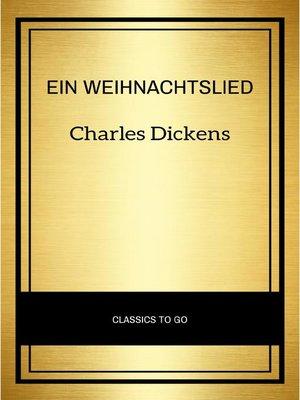 cover image of Ein Weihnachtslied
