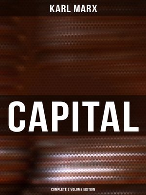 cover image of CAPITAL (Complete 3 Volume Edition)