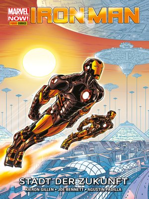 cover image of Marvel NOW! PB Iron Man 4--Stadt der Zukunft