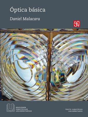 cover image of Óptica básica