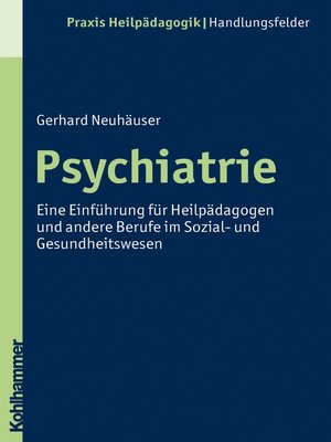 cover image of Psychiatrie