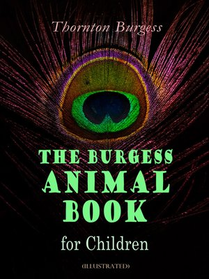 cover image of The Burgess Animal Book for Children (Illustrated)