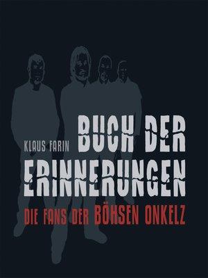 cover image of Buch der Erinnerungen