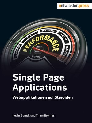 cover image of Single Page Applications