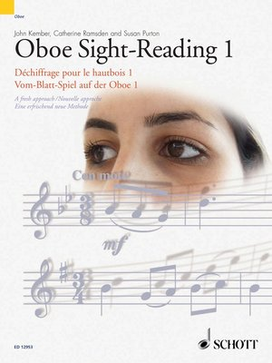 cover image of Oboe Sight-Reading 1