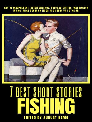 cover image of 7 best short stories--Fishing
