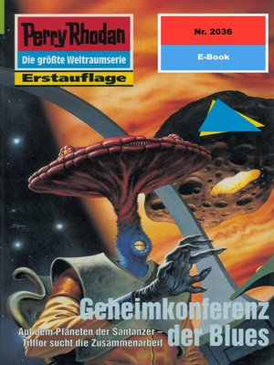 cover image of Perry Rhodan 2036