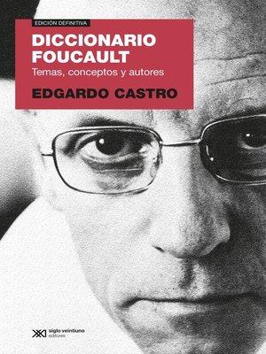 cover image of Diccionario Foucault