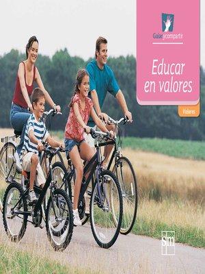 cover image of Educar en valores