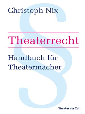 cover image of Theaterrecht