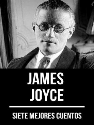 cover image of 7 mejores cuentos de James Joyce