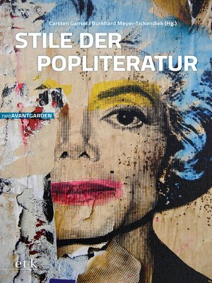 cover image of Stile der Popliteratur