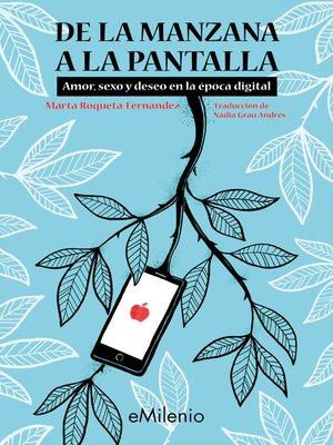 cover image of De la manzana a la pantalla