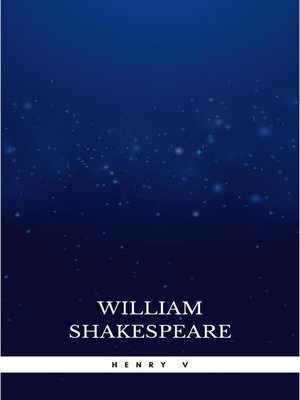cover image of Henry V