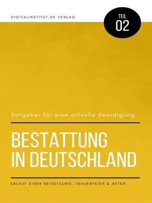 cover image of Bestattung in Deutschland