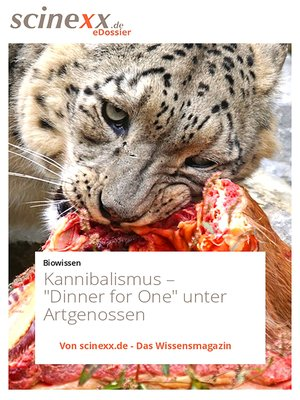 cover image of Kannibalismus