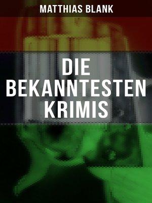 cover image of Die bekanntesten Krimis