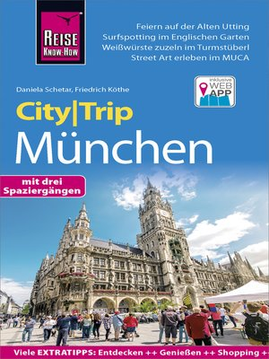 cover image of Reise Know-How CityTrip München