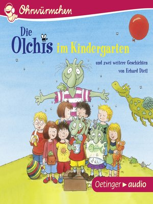 cover image of Die Olchis im Kindergarten