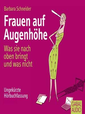 cover image of Frauen auf Augenhöhe