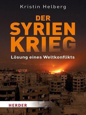 cover image of Der Syrien-Krieg