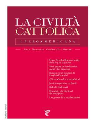 cover image of La Civiltà Cattolica Iberoamericana 21