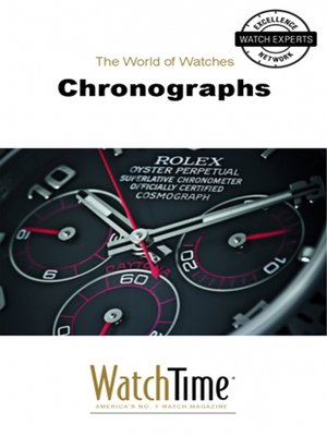 cover image of Chronographs