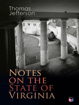cover image of Notes on the State of Virginia