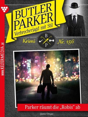 cover image of Butler Parker 156 – Kriminalroman
