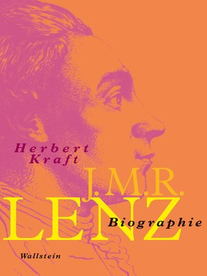 cover image of J.M.R. Lenz