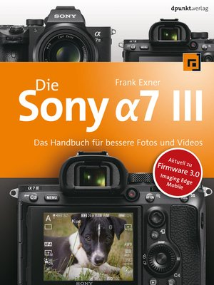 cover image of Die Sony Alpha 7 III