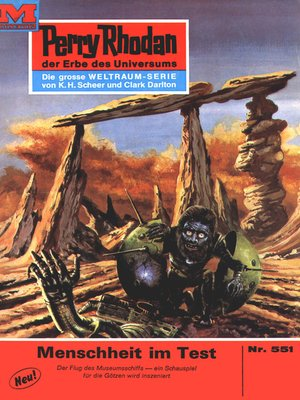 cover image of Perry Rhodan 551