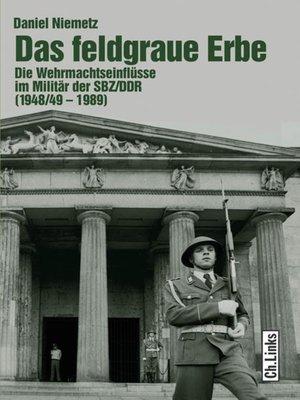 cover image of Das feldgraue Erbe