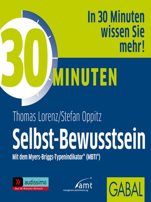 cover image of 30 Minuten Selbst-Bewusstsein