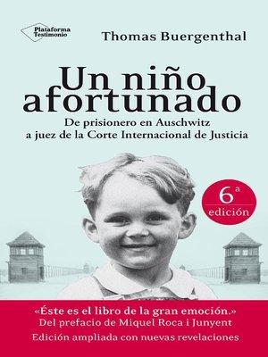 cover image of Un niño afortunado (6º edición ampliada)