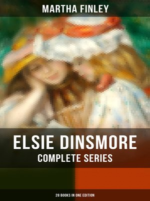 cover image of Elsie Dinsmore