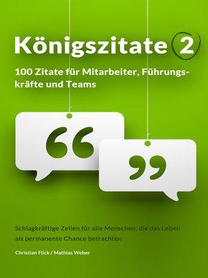 cover image of Königszitate 2