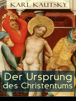 cover image of Der Ursprung des Christentums