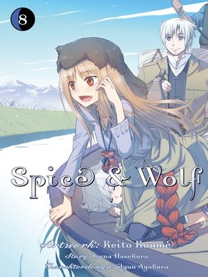 cover image of Spice & Wolf, Band 8