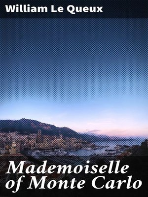 cover image of Mademoiselle of Monte Carlo