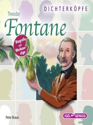 cover image of Dichterköpfe. Theodor Fontane