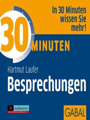 cover image of 30 Minuten Besprechungen
