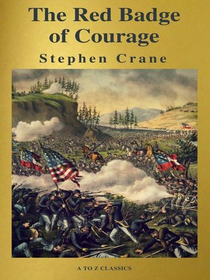cover image of The Red Badge of Courage ( a to Z Classics )