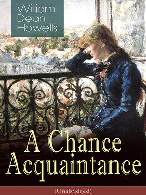 cover image of A Chance Acquaintance (Unabridged)
