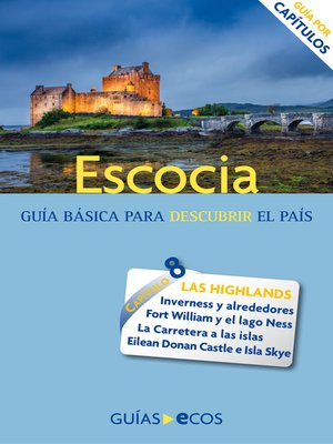 cover image of Escocia. Highlands e islas interiores