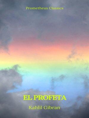 cover image of El profeta (Prometheus Classics)