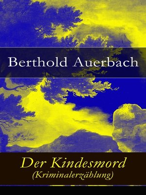 cover image of Der Kindesmord (Kriminalerzählung)