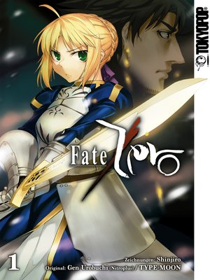 cover image of Fate Zero--Einzelband 01