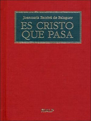 cover image of Es Cristo que pasa