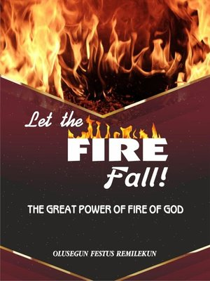 cover image of LET THE FIRE FALL